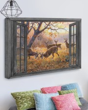 Deer 30x20 Gallery Wrapped Canvas Prints aos-canvas-pgw-30x20-lifestyle-front-02