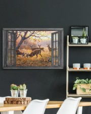 Deer 30x20 Gallery Wrapped Canvas Prints aos-canvas-pgw-30x20-lifestyle-front-04