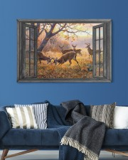 Deer 30x20 Gallery Wrapped Canvas Prints aos-canvas-pgw-30x20-lifestyle-front-06