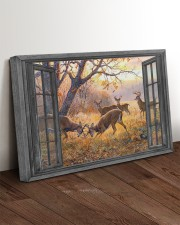 Deer 30x20 Gallery Wrapped Canvas Prints aos-canvas-pgw-30x20-lifestyle-front-17