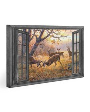 Deer 30x20 Gallery Wrapped Canvas Prints front