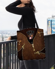 Rottweiler All-over Tote aos-all-over-tote-lifestyle-front-05
