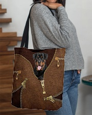 Rottweiler All-over Tote aos-all-over-tote-lifestyle-front-09