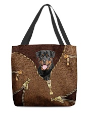 Rottweiler All-over Tote back