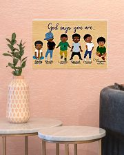 God say you are 17x11 Poster poster-landscape-17x11-lifestyle-21