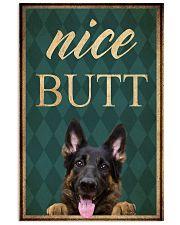 German Shepherd Nice Butt 11x17 Poster front