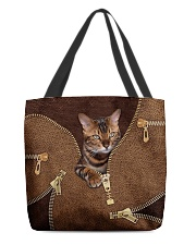 Bengal Cat All-over Tote back