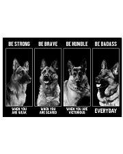 German Shepherd 17x11 Poster front