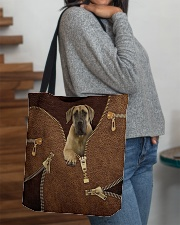 Fawn Great Dane All-over Tote aos-all-over-tote-lifestyle-front-09