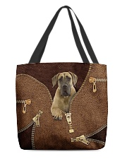 Fawn Great Dane All-over Tote back