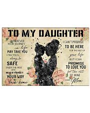 Daughter and mom 36x24 Poster front