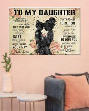 Daughter and mom 36x24 Poster poster-landscape-36x24-lifestyle-18