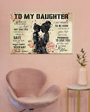 Daughter and mom 36x24 Poster poster-landscape-36x24-lifestyle-19