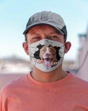 Pitbull Crack Cloth face mask aos-face-mask-lifestyle-06
