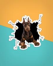 Doberman Pinscher Crack Sticker - Single (Vertical) aos-sticker-single-vertical-lifestyle-front-02