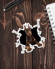 Doberman Pinscher Crack Sticker - Single (Vertical) aos-sticker-single-vertical-lifestyle-front-05