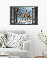 Deer 8 24x16 Poster poster-landscape-24x16-lifestyle-01