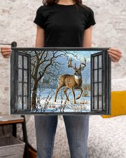Deer 8 24x16 Poster poster-landscape-24x16-lifestyle-20