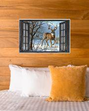 Deer 8 24x16 Poster poster-landscape-24x16-lifestyle-27