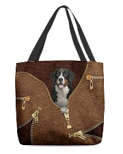 Bernese Mountain All-over Tote back