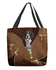 Bernese Mountain All-over Tote front