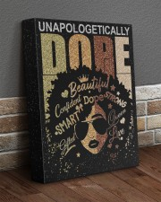 Unapologetically Dope 11x14 Gallery Wrapped Canvas Prints aos-canvas-pgw-11x14-lifestyle-front-10