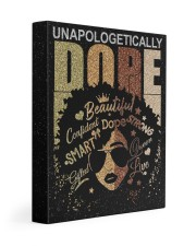 Unapologetically Dope 11x14 Gallery Wrapped Canvas Prints front