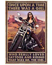 Biker Girl 11x17 Poster front