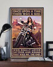Biker Girl 11x17 Poster lifestyle-poster-2