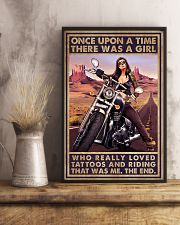Biker Girl 11x17 Poster lifestyle-poster-3