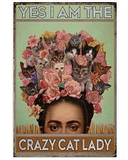 Yes I Am The Crazy Cat Lady 11x17 Poster front