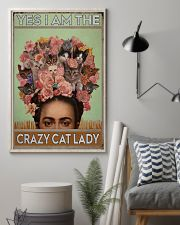 Yes I Am The Crazy Cat Lady 11x17 Poster lifestyle-poster-1