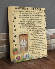 Personalized Cat will be waiting at the door 11x14 Gallery Wrapped Canvas Prints aos-canvas-pgw-11x14-lifestyle-front-10