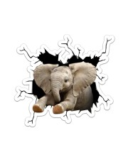 Elephant Crack Sticker tile