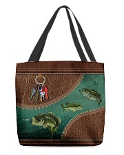 Fishing All-over Tote front