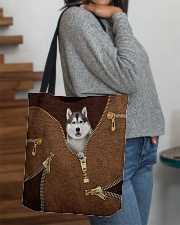 Siberian Husky All-over Tote aos-all-over-tote-lifestyle-front-09