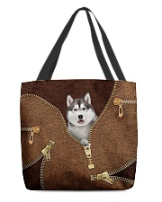 Siberian Husky All-over Tote back