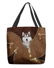 Siberian Husky All-over Tote front