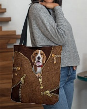 Beagles All-over Tote aos-all-over-tote-lifestyle-front-09