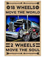 18 Wheels 11x17 Poster front