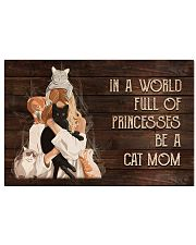 Cat Mom 17x11 Poster front