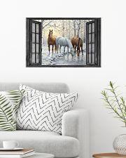 Horse 24x16 Poster poster-landscape-24x16-lifestyle-01