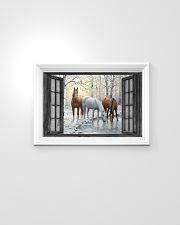 Horse 24x16 Poster poster-landscape-24x16-lifestyle-02