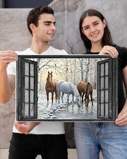 Horse 24x16 Poster poster-landscape-24x16-lifestyle-21