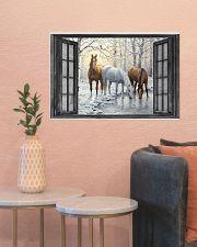 Horse 24x16 Poster poster-landscape-24x16-lifestyle-22