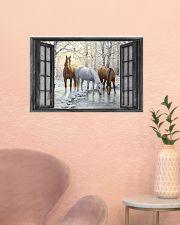 Horse 24x16 Poster poster-landscape-24x16-lifestyle-23