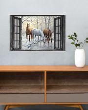 Horse 24x16 Poster poster-landscape-24x16-lifestyle-25