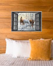 Horse 24x16 Poster poster-landscape-24x16-lifestyle-27