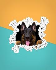 German Shepherd Crack Sticker - 4 pack (Vertical) aos-sticker-4-pack-vertical-lifestyle-front-02