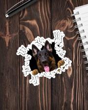 German Shepherd Crack Sticker - 4 pack (Vertical) aos-sticker-4-pack-vertical-lifestyle-front-05